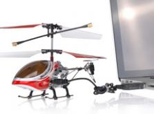 Вертолет Микроша Falcon-X 3CH IR с гироскопом (Metal RTF Version)-фото 6