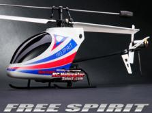 Вертолет Nine Eagles Free Spirit 2.4 GHz (White-Blue RTF Version)-фото 6