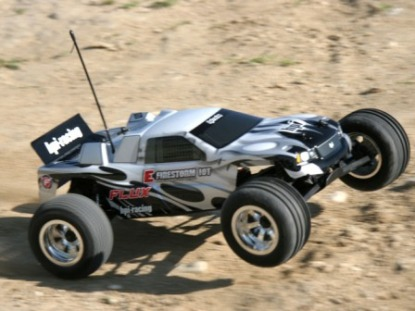 RTR E-FIRESTORM 10T FLUX WITH DSX-2 TRUCK BODY