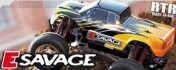 RTR E-Savage with GT Truck bodyshell-фото 2