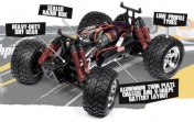 RTR E-Savage with GT Truck bodyshell-фото 3