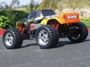 RTR E-Savage with GT Truck bodyshell-фото 4