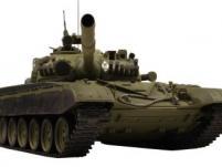 Танк VSTANK PRO Russian Army Tank T72 M1 1:24 IR (Khaki RTR Version)