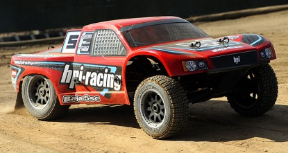 HPI Baja 5SC SC-1 2WD Baggy 1:5 2.4Ghz Gas (Red RTR Version)