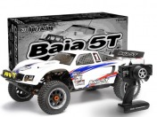 RTR BAJA 5T WITH 5T-1 WHITE BODY  2.4 GHz (EU 2 PIN)