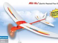Самолет Falcon Free Flight с электромотором