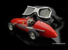 Коллекционная модель автомобиля СMC Ferrari 500 F2 1953 1/18 Red-фото 8