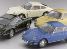 Коллекционная модель автомобиля СMC Porsche 901 1964 1/18 Sky Blue Limited Edition-фото 6