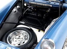 Коллекционная модель автомобиля СMC Porsche 901 1964 1/18 Sky Blue Limited Edition-фото 7