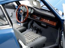 Коллекционная модель автомобиля СMC Porsche 901 1964 1/18 Sky Blue Limited Edition-фото 8