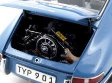 Коллекционная модель автомобиля СMC Porsche 901 1964 1/18 Sky Blue Limited Edition-фото 9