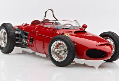Коллекционная модель автомобиля СMC Ferrari 156 F1 1961 Sharknose #2 Hill/Monza 1/18 Limited Edition