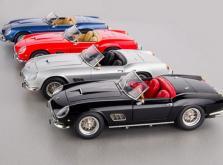 Коллекционная модель автомобиля СMC Ferrari 250GT California SWB Spyder 1961 1/18 Black-фото 9