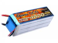 AE Gens Ace Li-Po battery 22.2V 4000 mAh 6S1P 25C Soft Case, подходит к Trex 600