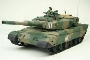 Радиоуправляемый танк  JGSDF Type 90 MP NATO 1:24 Airsoft/JR (Camouflage RTR Version)-фото 2