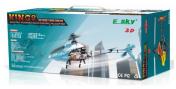 Вертолет на радиоуправлении Esky Honey Bee King3 400 3D RC 2.4 GHz EK1H-E512LA (000016) (Blue RTF Version)-фото 2