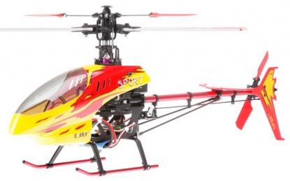 Радиоуправляемый вертолет Esky Honey Bee King3 400 3D RC 2.4 GHz EK1H-E512RA (000016) (Red RTF Version)