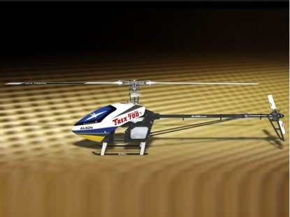 Вертолет на радиоуправлении с ДВС Align T-REX 700 Nitro Limited Edition RC (Black KIT Version)
