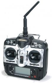 Комплект радиоаппаратуры JR DSX7 V3 2.4GHz w/RD721 Receiver DSMJ (Mode 2)-фото 1