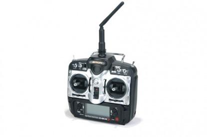 Комплект радиоаппаратуры JR DSX7 V3 2.4GHz w/RD721 Receiver DSMJ in Case (Mode 2)