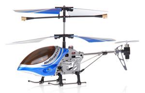 Микровертолет Falcon-X 3CH IR с гироскопом (Metal RTF Version)