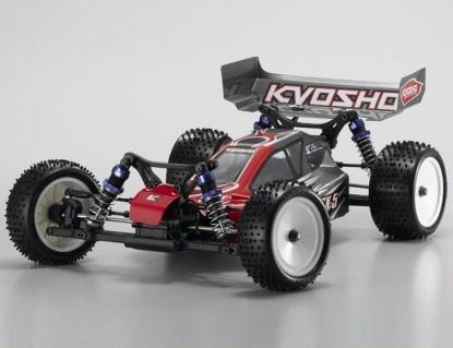 1/10 EP 4WD r/s Lazer ZX-5 Type 1 Red/Gray