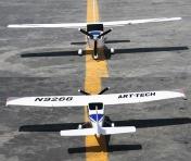 Радиоуправляемый самолёт Cessna 182 RTF 2,4Ghz-фото 2