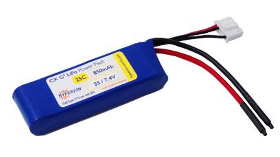 Аккумулятор Hyperion Li-Polimer battery G3 CX 7.4V 850 mAh 2S 25C/45C