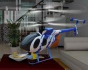 Радиоуправляемый вертолет Nine Eagle Bravo III 2.4 GHz в кейсе-фото 1