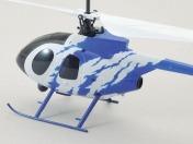 Радиоуправляемый вертолет Nine Eagle Bravo III 2.4 GHz в кейсе-фото 2