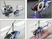 Радиоуправляемый вертолет Nine Eagle Bravo III 2.4 GHz в кейсе-фото 3