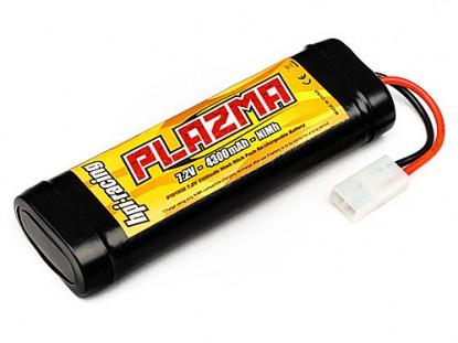 Силовой аккумулятор HPI Plazma 7.2V 4300mAh NI-MH Stick Pack Re-Chargeable Battery