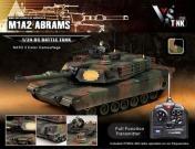 Танк на радиоуправлении M1A2 Abrams NATO Airsoft/JR-фото 1