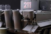 Радиоуправляемый танк German Tiger I EP 1:24 Airsoft/JR (Grey RTR Version)-фото 4
