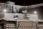 Радиоуправляемый танк German Tiger I EP 1:24 Airsoft/JR (Grey RTR Version)-фото 6