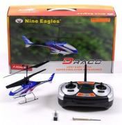 Вертолет Nine Eagle Draco 2.4 GHz (Blue RTF Version)-фото 3