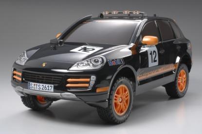 Радиоуправляемая автомодель Porsche Cayenne Transsyberia