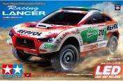 Радиоуправляемая модель Repsol Mitsubishi - DF01 Ralliart Racing Lancer-фото 2