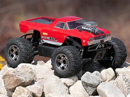 HPI Racing Корпус Chevrolet El Camino SS неокрашенный  для Savage Flux XS с колесной базой 225 мм