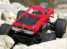 HPI Racing Корпус Chevrolet El Camino SS неокрашенный  для Savage Flux XS с колесной базой 225 мм-фото 1