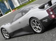 HPI Racing Корпус 1/10 Pagani Zonda F, неокрашенный. Колёсная база 255 мм. Ширина шасси 200 мм.-фото 1