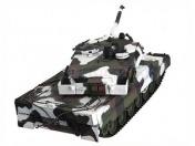 Радиоуправляемый танк  German Leopard 2 A6 Winter 1:24 Airsoft /JR-фото 8