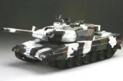 Радиоуправляемый танк  German Leopard 2 A6 Winter 1:24 Airsoft /JR-фото 9