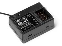HPI Racing Приемник 3-канальный RF-40 диапазона  2.4ГГц для передатчиков TF-40