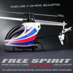 Вертолет Nine Eagles Free Spirit 2.4 GHz (White-Blue)