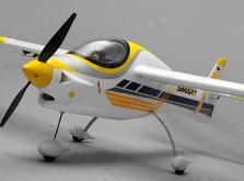 Радиоуправляемый самолет Dynam Smart Trainer Brushless RTF-фото 2
