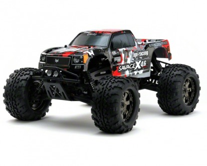 RTR HPI Savage X 4.6 yellow Nitro  4WD 2.4GHz