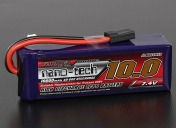 LiPo Аккумулятор Turnigy nano-tech 10000 mAh 2s 40-80C