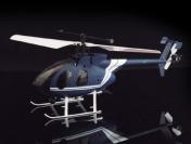 Вертолет  Nine Eagle Bravo SX 2.4 GHz в кейсе + допкомплект