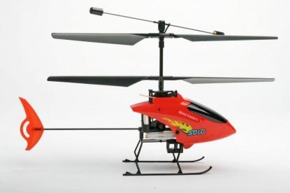 Радиоуправляемый вертолет Nine Eagle Solo 2.4 GHz (Red RTF)